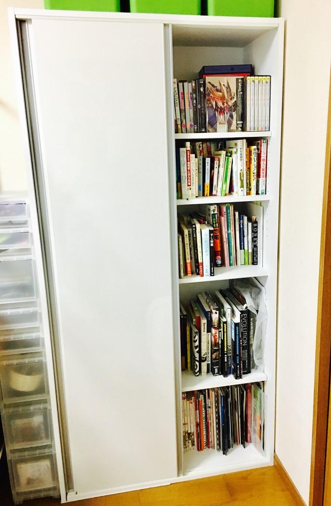 清水幸詩郎先生の本棚を覗こう