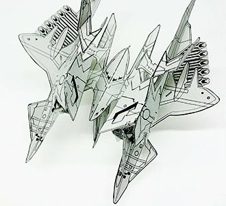 「星界の紋章」特製ペーパークラフト